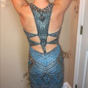 Sherri Hill homecoming dress, WORN ONCE!